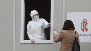 Már Szerbiában is felbukkant a fertőző brit mutáns
