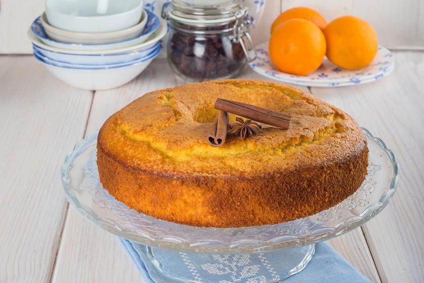 Pihe-puha narancsos piskóta: olajos tésztával nem lehet elrontani