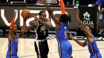 Sorozatban hetedszer nyert a Los Angeles Clippers az NBA-ben
