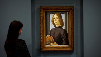 Botticelli-festményt bocsátanak árverésre New Yorkban, a kikiáltási ár 23,5 milliárd forint