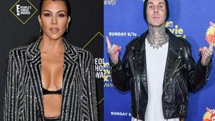 Kourtney Kardashian sok évi barátság után összejött Travis Barkerrel