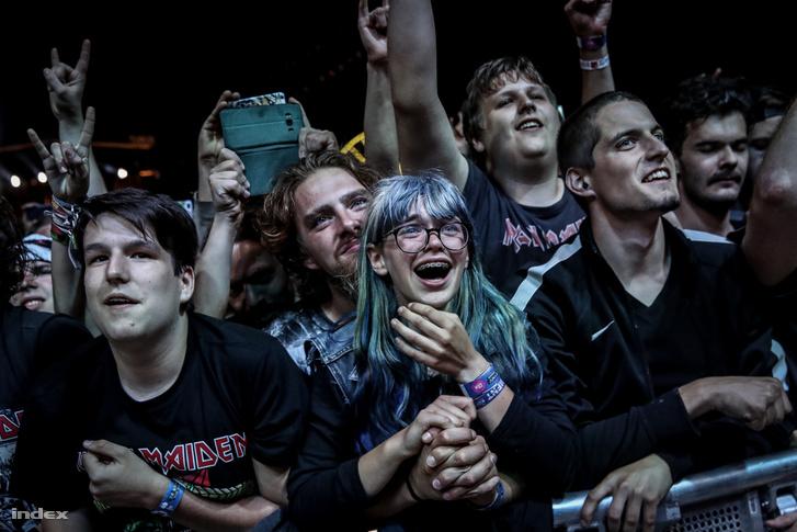 Iron Maiden-koncert a VOLT fesztiválon, 2018-ban