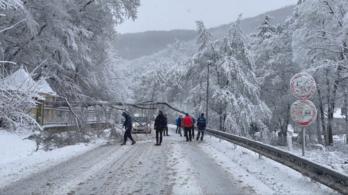 Megroppant a kelet-szlovákiai közlekedés a hó miatt