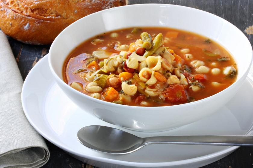 téli minestrone recept