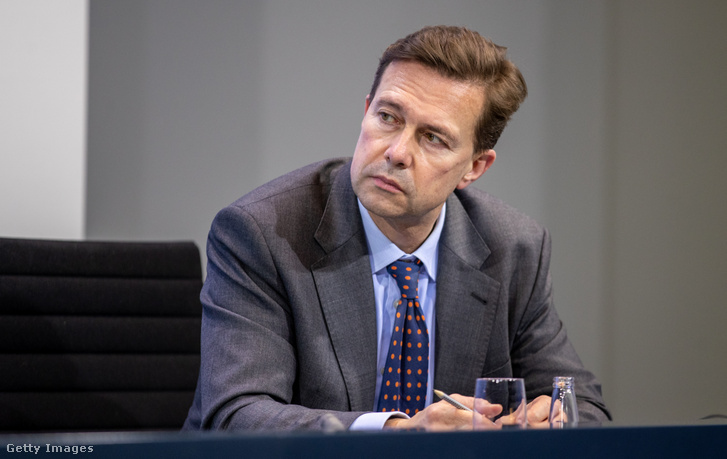 Steffen Seibert német kormányszóvivő.