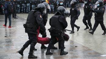 A német kormány elítéli az orosz rendőri erőszakot a Navalnij mellett tüntetőkkel szemben