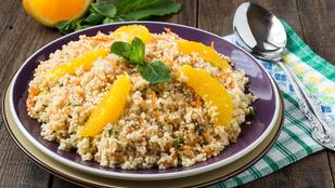 Köretként és reggelire is szuper a kuszkusz naranccsal és mézzel