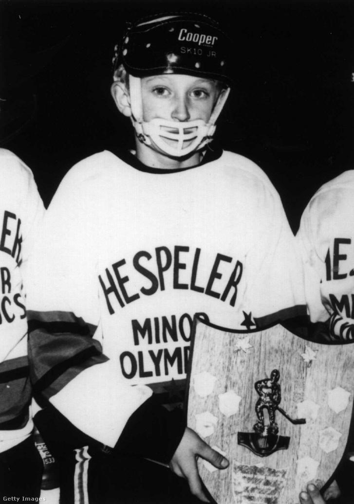 Wayne Gretzky 1970 körül