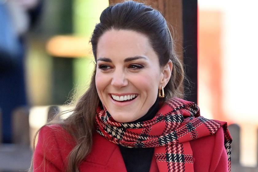 Katalin skót kockás ruhába bújt: a rajongók ámultak a hercegné szépségén