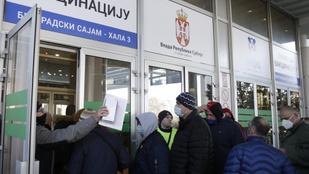 Papíron már elfogyott a kínai vakcina Szerbiában