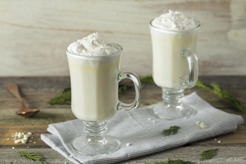fehér forró csoki recept