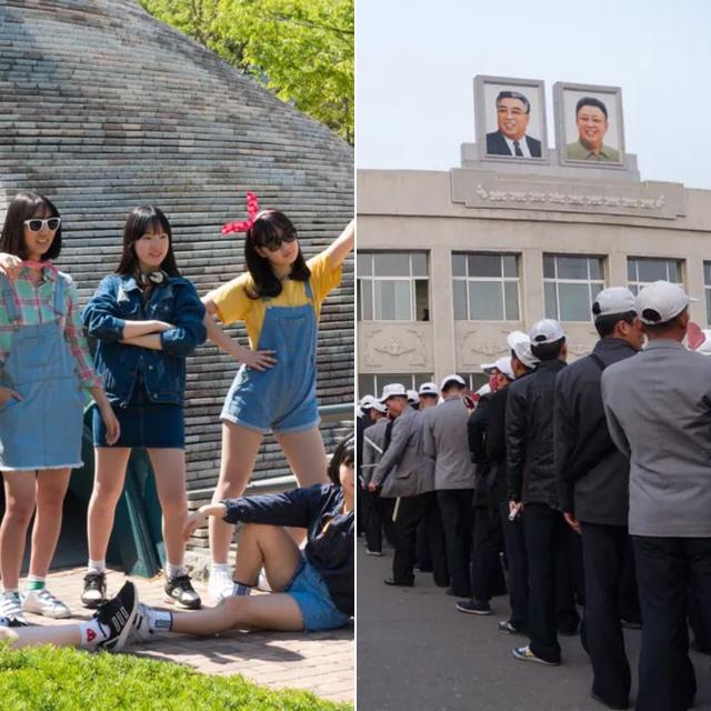 Hogyan tanulnak a fiatalok Észak- és Dél-Koreában? Megdöbbentő képpárok a két ország életéről