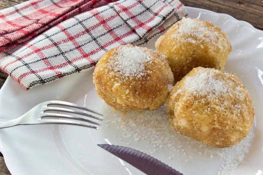 Fahéjas, almás gombóc: így biztosan finom puha lesz a tészta
