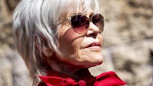 A 83 éves Jane Fonda életműdíjat kap a Golden Globe-on