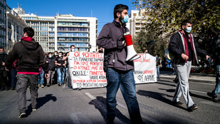 Betiltották a százfősnél nagyobb tüntetéseket Görögországban