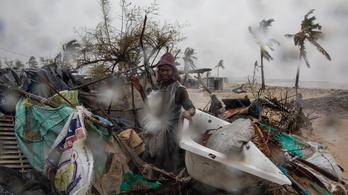 Negyedmillió embert sújt az Eloise ciklon Mozambikban