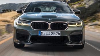 Még gyorsabb M5-öst mutatott a BMW