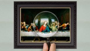 Miért hiányzik Jézus lába Az utolsó vacsoráról?