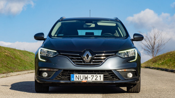Használtteszt: Renault Mégane IV Grandtour Intens Energy dCi 110 - 2017.