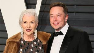 Elon Musk anyukája már 3 éves fiáról tudta, hogy az egy zseni