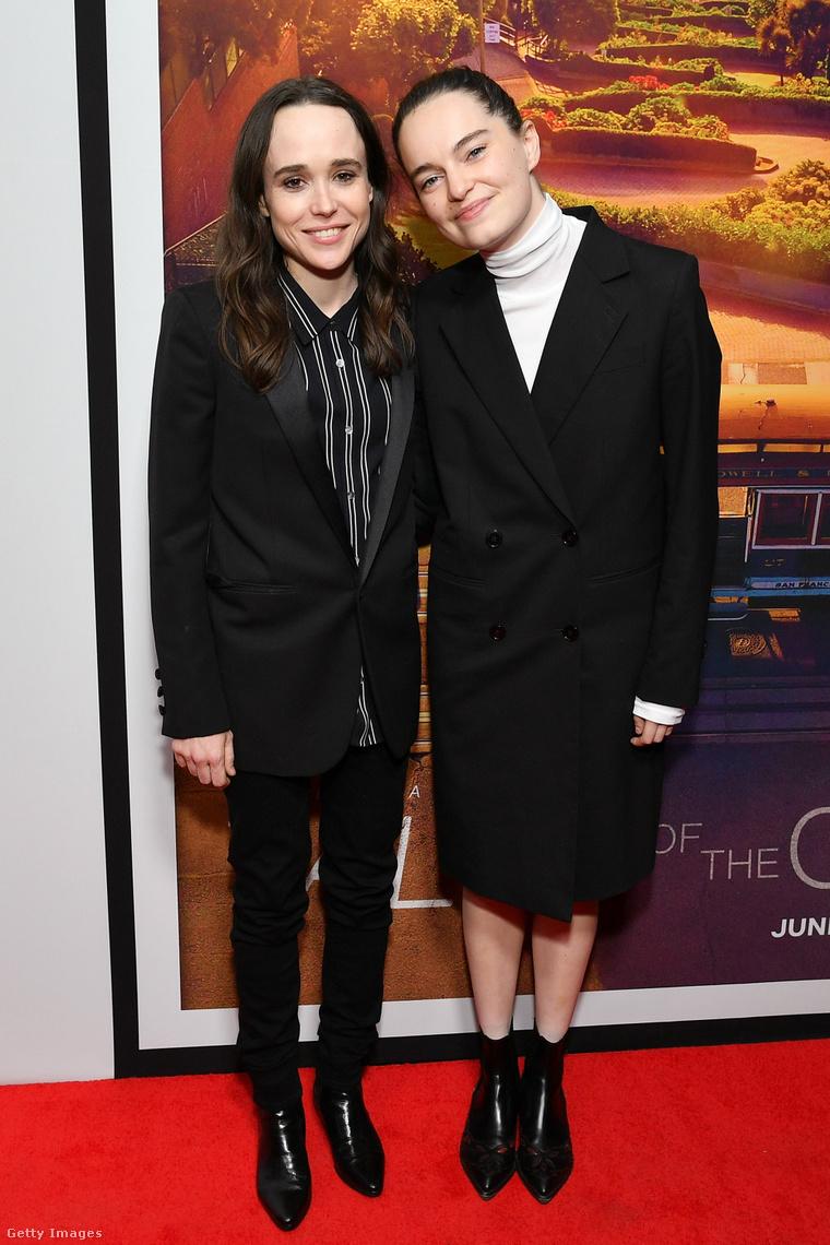 Elliot Page és Emma Portner