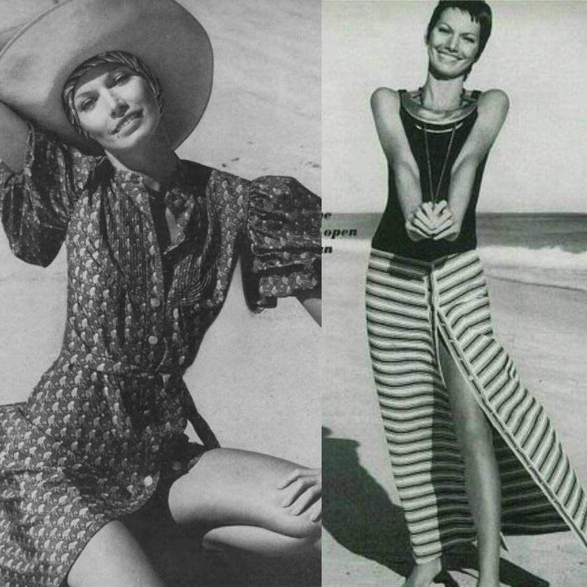 173 centi magasan karcsú alakjával és gyönyörű arcával Kállay Katalin a '70-es és '80-as évek keresett modellje és manökenje volt.