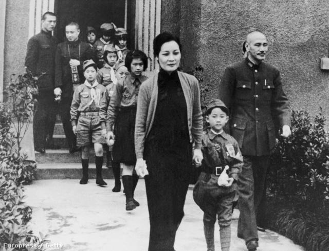 Csang Kaj-sek és családja