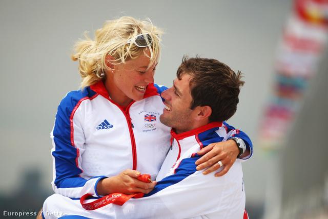 A pár 2008-ban, a pekingi olimpián, nem sokkal házasságkötésük előtt