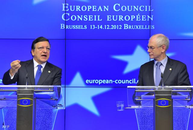 José Manuel Barros és Herman van Rompuy