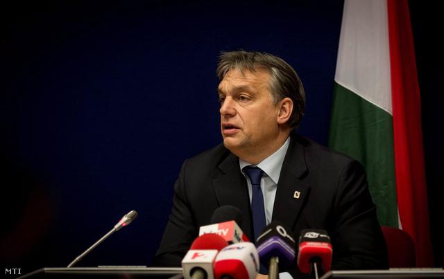 Orbán Viktor Brüsszelben