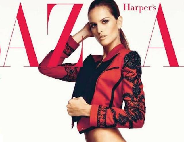 A spanyol Harper's Bazaar 2012 áprilisi címlapja