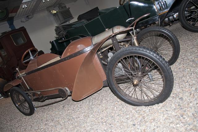 Bőrkuffernek becézték Josef Chlad cyclekarját