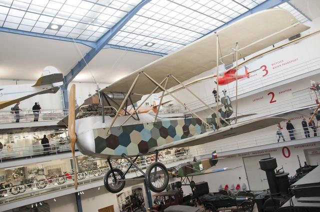 A Knoller festése mértani: a C.II 1917-ben készült