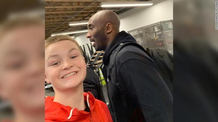 Az utolsó fénykép Kobe Bryantről