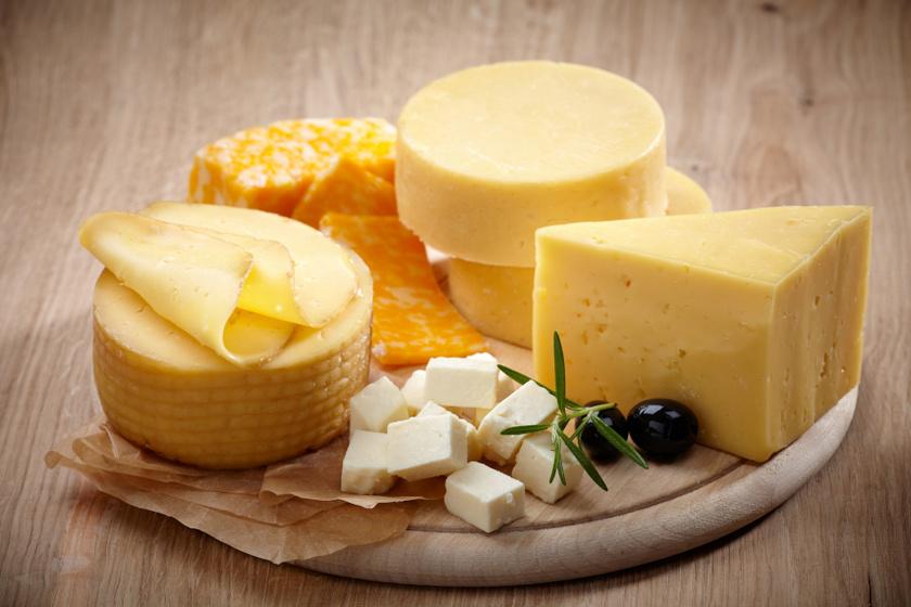 sajtfajták belső ok