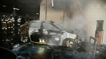 A visszahívás után is kigyulladt az elektromos Hyundai Kona