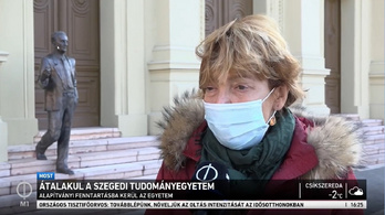 Az M1 híradójában már tényként közölték a Szegedi Tudományegyetem alapítvánnyá válását