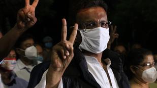 Visszaszorították a koronavírust Indiában