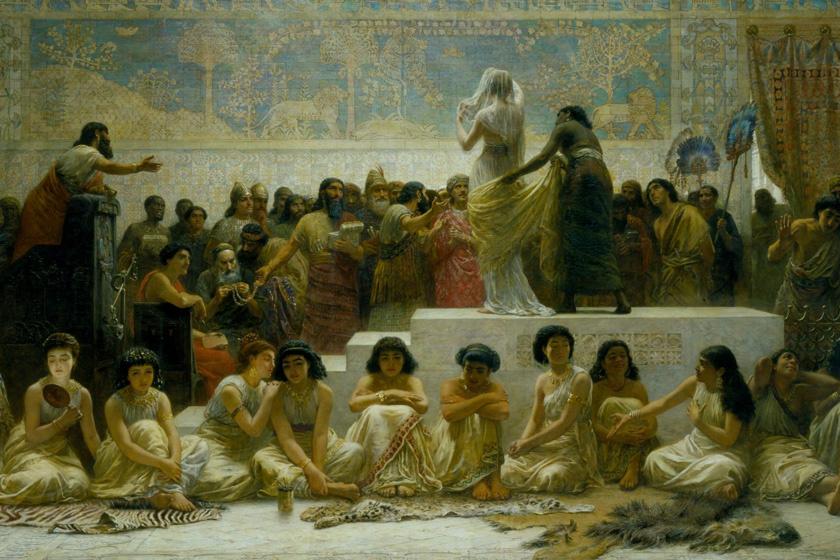 Mezopotámiai menyasszonypiac