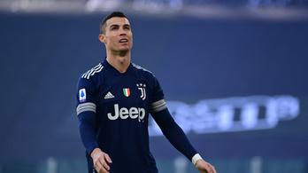 Újabb botrány C. Ronaldo körül: megszegte a járványügyi szabályokat, büntetésre számíthat