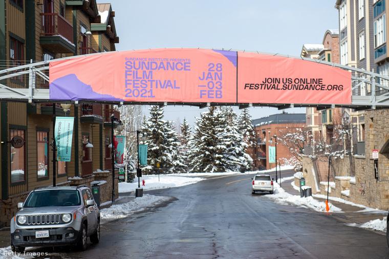 Hát ez az egyik első fotó az idei Sundance-ről, amelynek január 28