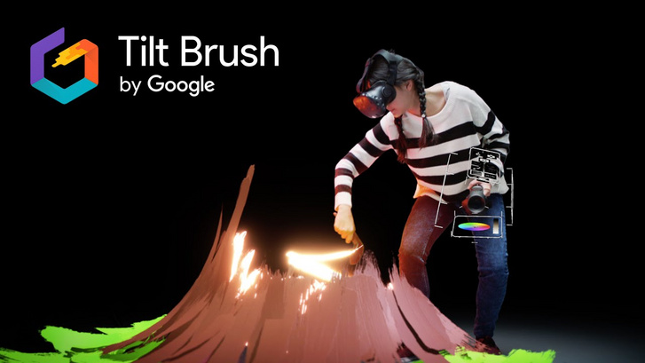 Tilt Brush (Forrás: Youtube)