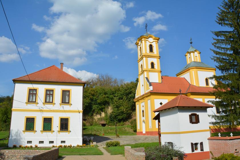Grábóci szerb ortodox kolostor és templom.