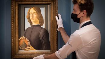 Több mint 90 millió dollárért kelt el egy ritka Botticelli-festmény