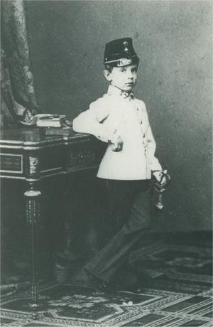 Rudolf trónörökös ötéves korában