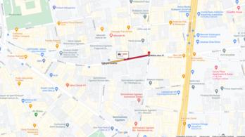 Hétvégére lezárják a Baross utca egy szakaszát