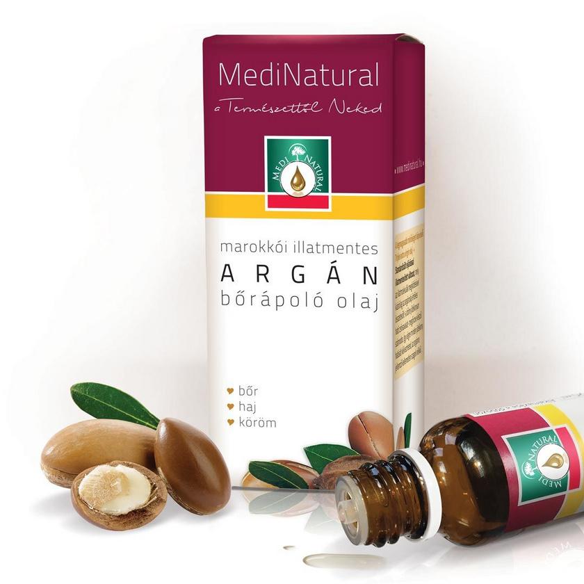 Az argánolaj kedvelt összetevő a hajápolásban, ám az arcbőrrel is csodákat tehet. Remekül hidratál, E-vitaminban gazdag, és az apróbb ráncok, szarkalábak halványításában is segít. A Medinatural bőrápoló olaja 1799 forintért kapható a dm-ben.