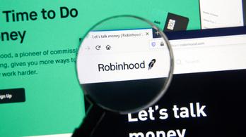Negatív értékelésekkel bombázták a Robinhoodot a tőzsdét felforgató kisbefektetők