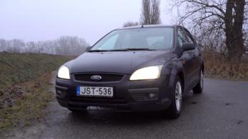 Használtteszt: Ford Focus Trend 1,6 - 2005.