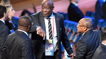 Fellebbez eltiltása ellen az afrikai szövetség vezetője